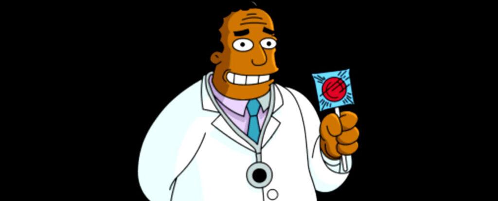 Dr Hibert/Photo: printscreen The Simpsons