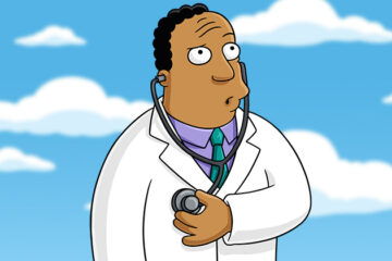 Dr Hibert/Photo: printscreen The Simpsons