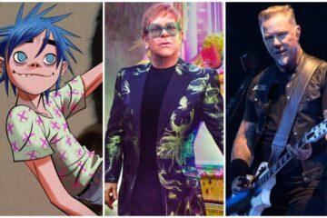 Gorillaz, Elton Džon, Džejms Hetfild/Photo: printscreen