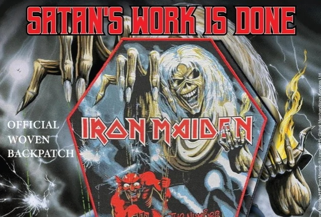 Iron Maiden/ pulltheplugpatches.com