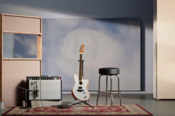 American Acoustasonic Jazzmaster/Photo; YouTube printscreen