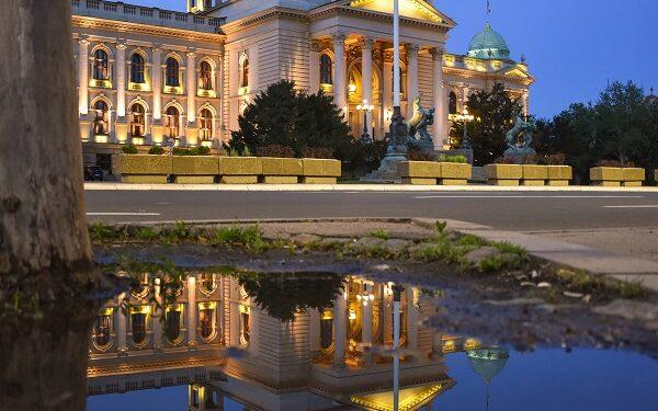 Skupstina republike Srbije/ Photo: Peđa Ivković (promo, KC Čukarica)