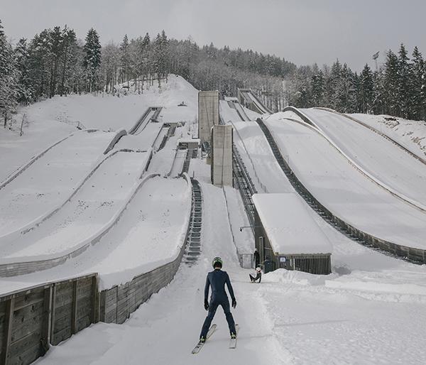 Vladimir Živojinović, The First Serbian Ski jumper/ Photo: Promo, dozvoljeno objavljivanje