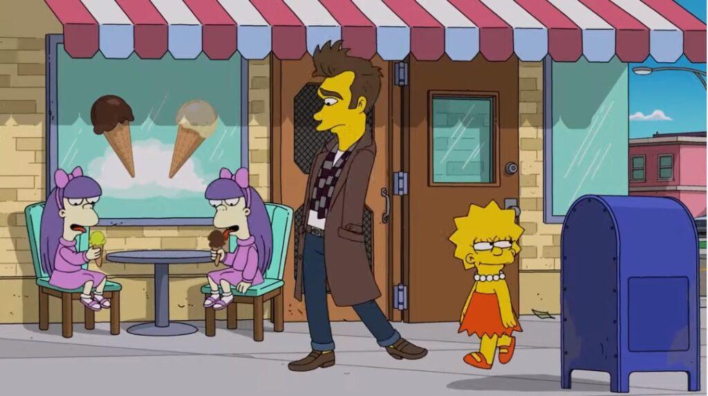 Morisi u Simpsonovima/Photo: printscreen