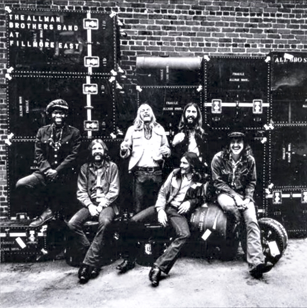 The Allman Brothers Band, At Fillmore East, album cover/ Photo: youtube.com printscreen
