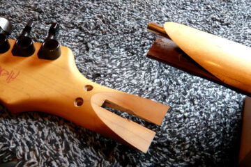 Polomljena gitara/Photo: printscreen