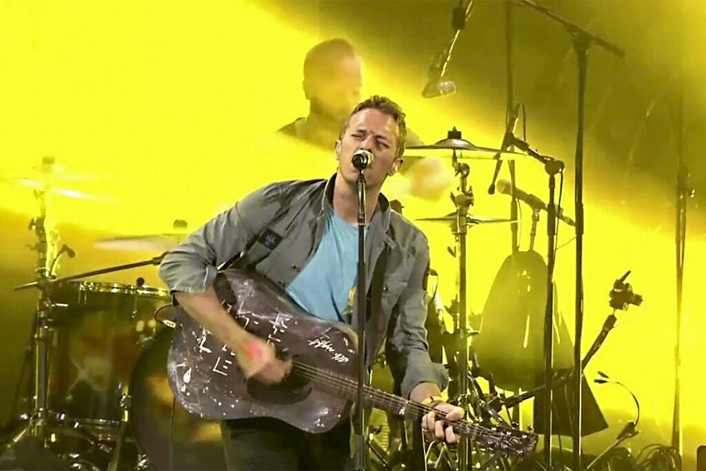 Coldplay/ Photo: youtube.com printscreen