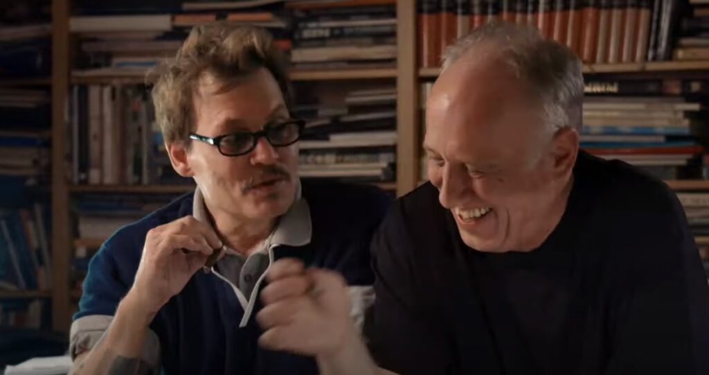 Džoni Dep i Kreka/Photo: youTube printscreen