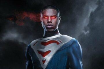 Black Superman/ilustracija