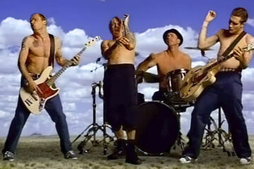 Red Hot Chili Peppers/ Photo: youtube.com printscreen