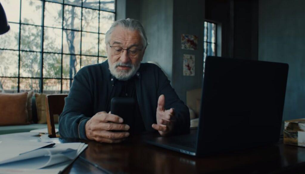 Robert De Niro/Photo: YouTube printscreen