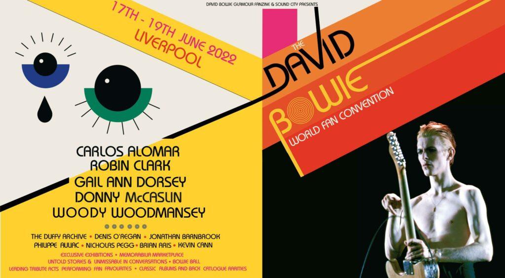 Konvencija fanova Dejvida Bouvija, plakat