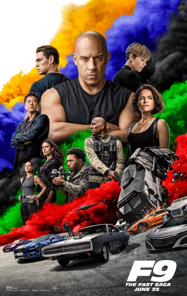 fast and furious 9 plakat
