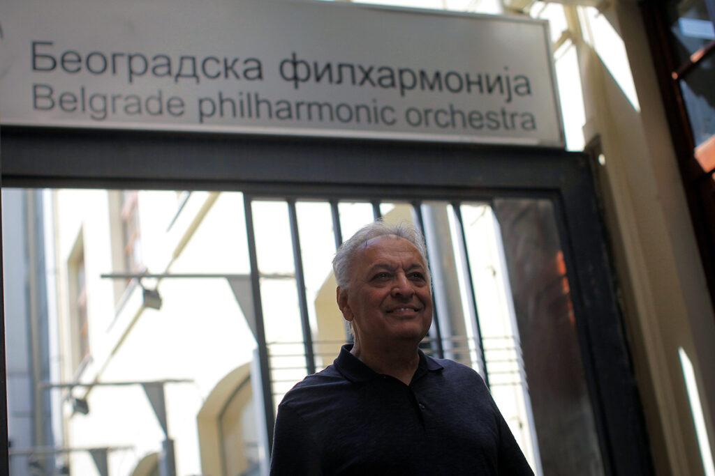 Zubin Mehta/Photo:/Marko Đoković/BEOGRADSKA FILHARMONIJA