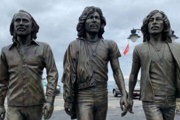 Bee Gees, statua na ostrvu Man/Photo: screenshot