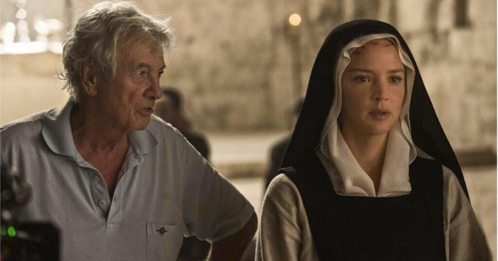 """Pol Verhoven na snimanju filma """"Benedetta"""", promo"""