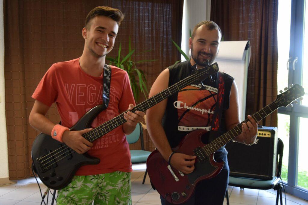 Vedran Đurašinović i David Crnobrnje, organizatori festivala/Photo: Promo