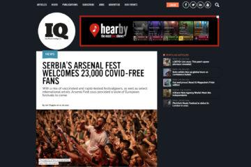 IQ magazin o Arsenal Festu
