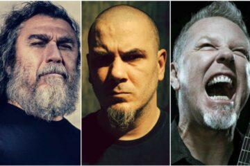 Slayer, Pantera, Metallica/collage
