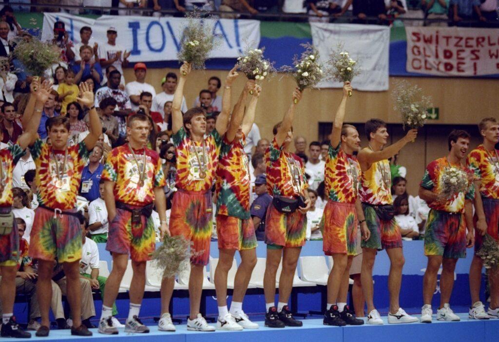 Košarkaška reprezentacija Litvanije 1992.