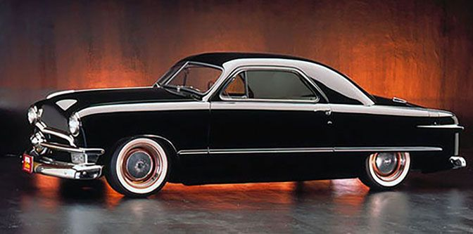 1950 Ford 'Kopperhed' Business Coupe/Photo: motorious.co/pinterest