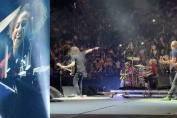 Nandi Bušel i Foo Fighters/Photo: printscreen