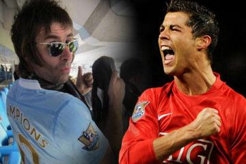 Liam Galager i Kristijano Ronaldo/Photo: instagram
