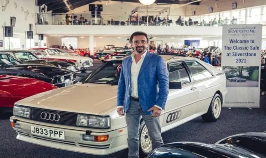 Ričard Hamond/Photo: Silverstone Auctions (@Silverstoneauc on Twitter)