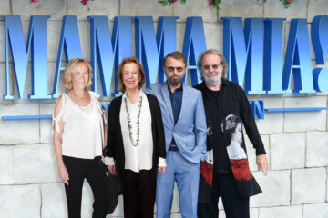 ABBA/Photo: facebook@Homage To Anni-Frid Lyngstad