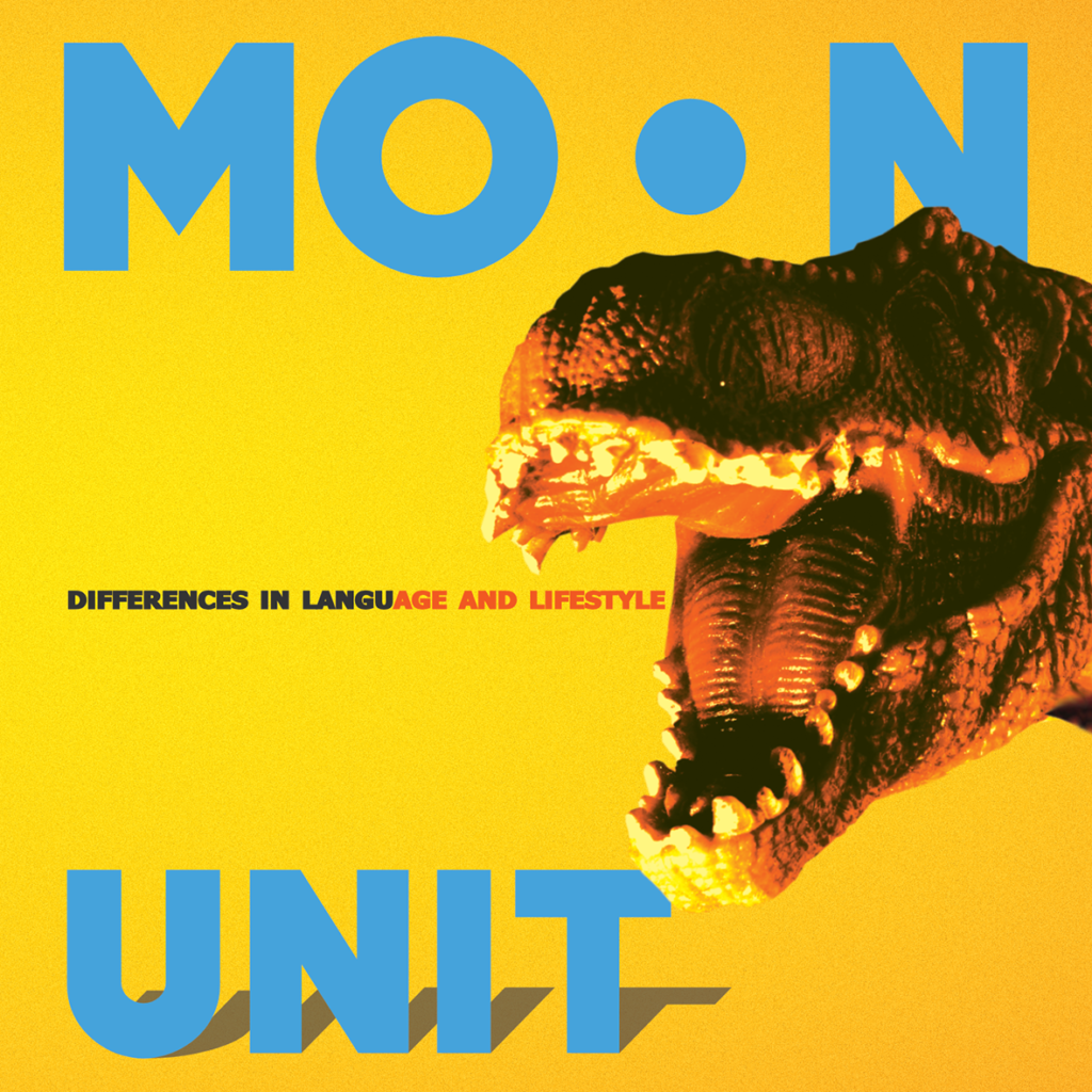 Moon Unit, Differences in Language and Lifestyle, cover art: Bojan Gatalica