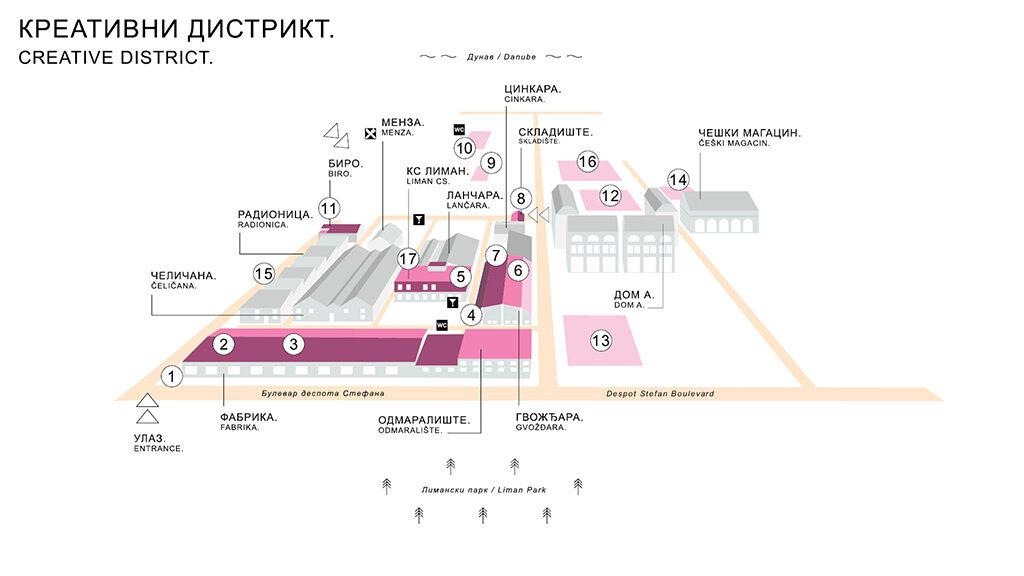 Kaleidoskop kulture (mapa)/ Photo: Promo