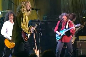 Led Zeppelin i Nil jang/Photo: screenshot