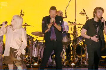 Coldplay, Nili i Fineas Ajliš/Photo: screenshot