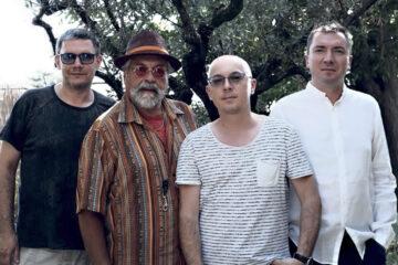 Marcin Wasilewski Trio & Joe Lovano/ Photo: Sam Harfouche ECM Records (promo, BJF)