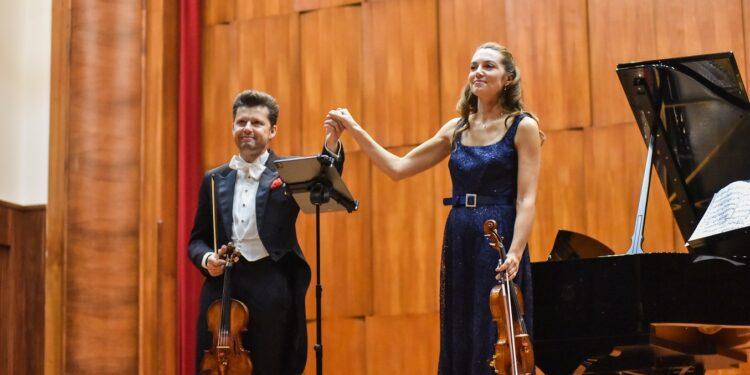 Julijan Rahlin i Sara Mekelveri/ Photo: Belkisa Beka Abdulović